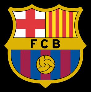 Barcelona logo escudo1 296x300 - Barcelona FC Logo - Fútbol Club Barcelona Escudo