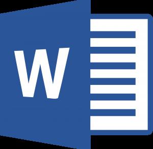word logo1 300x293 - Microsoft Word Logo