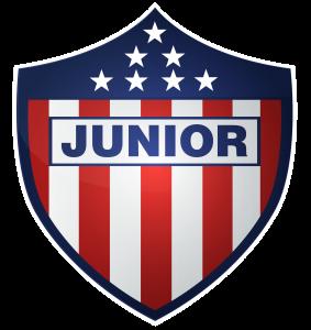 junior de barranquilla logo 11 283x300 - Junior de Barranquilla Logo - Junior FC Escudo