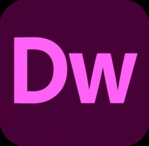 adobe dreamweaver logo 4 11 300x293 - Adobe Dreamweaver Logo