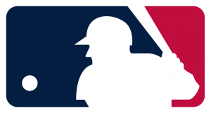 mlb logo 41 300x168 - MLB Logo - Major League Baseball Logo