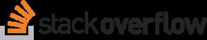 stack overflow logo 41 300x59 - Stack Overflow Logo